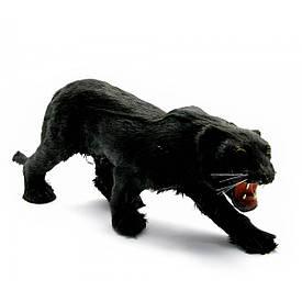 """Пантера (з шкіри і хутра) (12"""")(36х16х8 см)"""