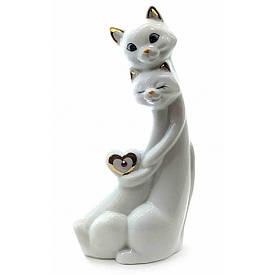 Кішки закохані порцелянові (18х9х5,5 см)