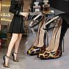 Европейский и американский ночной клуб, металлический каблук, очень высокий каблук, остроконечный носок, шпильки, пикантные туфли на высоком каблуке