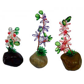 Цветок в камне (8,5х4,5х3,5 см)(2 шт/уп)