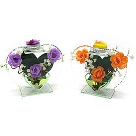 Квітка в склі (15,5х14,5х5 см)