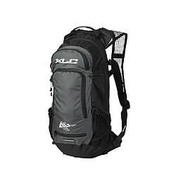 Рюкзак велосипедный 12 л. XLC BA-S80, черно -серый велорюкзак с защитой от дождя и грязи