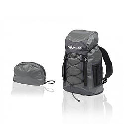 Рюкзак для велосипеда 22 л туристический  XLC BA-W23, черно-серый велорюкзак с защитой от дождя и грязи
