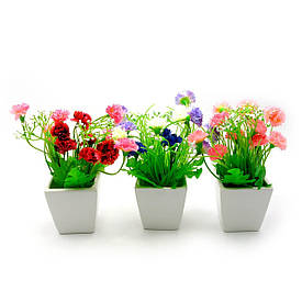 Квіти в горщику (16х7,х7 см)