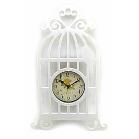"""Годинник """"Птах у клітці"""" (40х20х4 см)"""