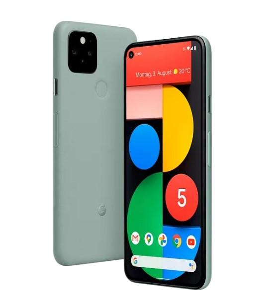 Cмартфон Google Pixel 5 8/128GB Sorta Sage Европейская версия, 9 МЕС