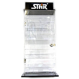 ПІД ЗАСТАВУ Стенд для запальничок (на 16 запальничок)(43,75х22,5х12,5 см)