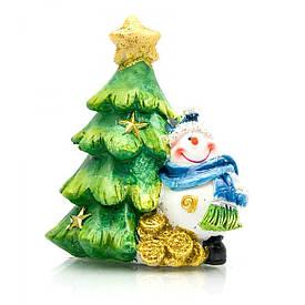 Сніговик під ялинкою (4 шт/уп)(8,5х6,5х6 см)