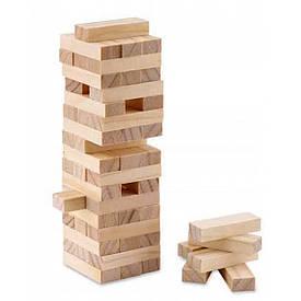 """Гра настільна """"Дженга"""", масив дерева (48 брусків)(23х7х7 см)"""