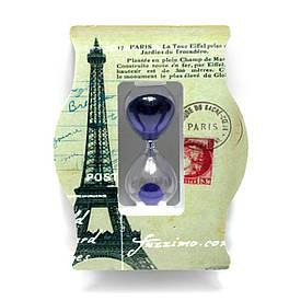 """Годинник пісочний """"Париж"""" (14х11х4 см)"""