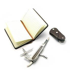 Подарунковий набір (Ніж,записна книжка,ключниця)(24х17х4 см)