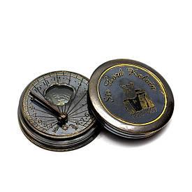 Сонячні години з компасом (5х5х1,5 см)
