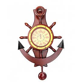 Годинник-якір з маятником (41,5х31х6,5 см)