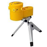 Лазерный уровень вертикальный горизонтальный с треногой laser level LV-06 на штативе многофункциональный