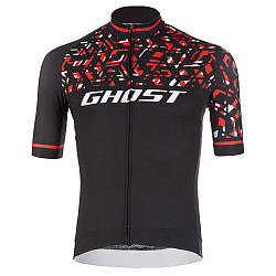 Джерсі Ghost Racing Jersey Short blk/red/wht - L