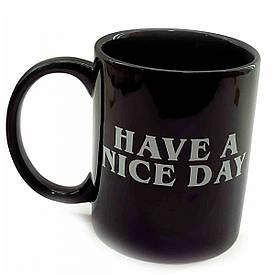 "Чашка керамічна ""Have a Nice Day"" (9,5х12х8 см)(250 мл)"