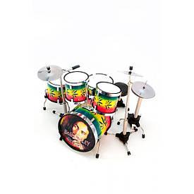 """Барабанна установка """"Bob Marley"""" (13х13х11 см)"""