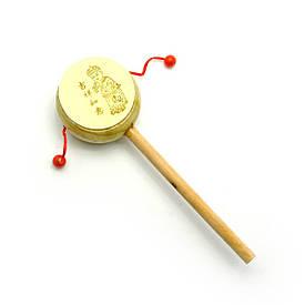 Барабан-трещітка з малюнком (20,5х6,5х3,5 см)