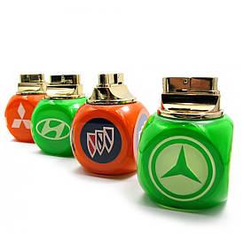 """Запальничка настільна """"Автомобільні марки"""" газова п'єзо"""