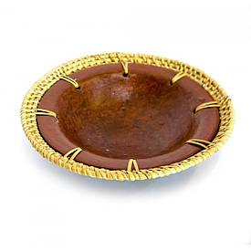 Глиняне Блюдо (d-14 см)
