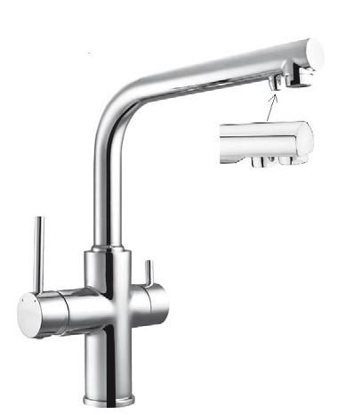 Смесители для кухни Imprese Смеситель для кухни с подключением к фильтру Imprese Daicy 55009-F