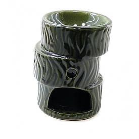 """Аромалампа """"Зигзаг"""" зелена (10,5х7.5х7.5см)"""