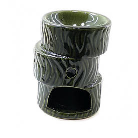 "Аромалампа  ""Зигзаг"" зеленая (10,5х7.5х7.5см)"