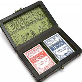 Шкатулка з картами антик (079к)