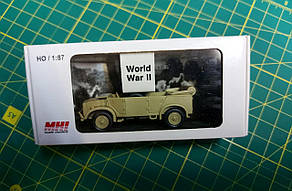 HORCH (Schw. Pkw) 108 Typ 1a/1b без тента. Пластиковая модель в масштабе 1/87. MHI 87301