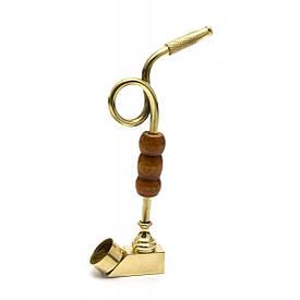 Трубка бронзова гнута (13,5х7х1,3 см)(ZIK ZAK)E