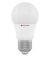 Лампа светодиодная A50 6W E27 4000К 500 Lm ELECTRUM