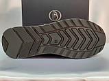 Стильные зимние кожаные ботинки под кроссовки Bertoni, фото 9