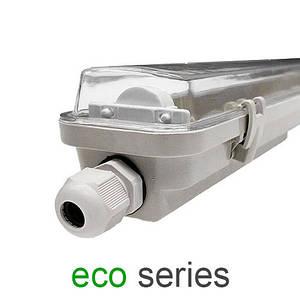 Корпус светильника под 1 LED лампу Т8 600 мм пыле- влагозащищенный IP65 серия ECO