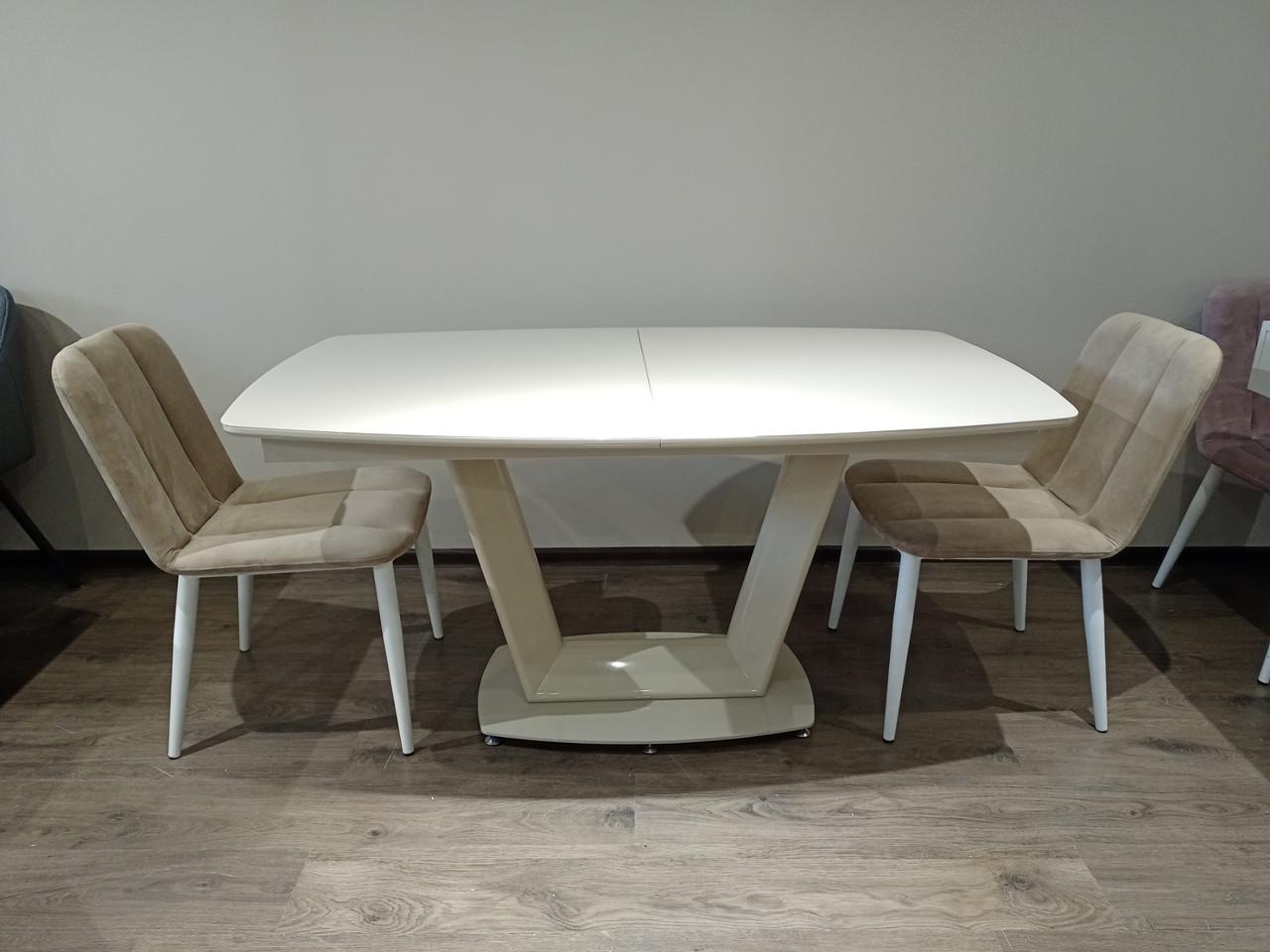 Стол обеденный Равена TES Mobili крем