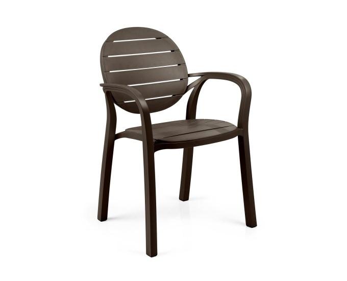Крісло з підлокітниками Palma     59Х56,5Х86 см caffe