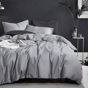 Постельное белье сатин Iron grey ТМ Moonlight Полуторный, фото 2