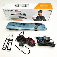 Видеорегистратор зеркало DVR A29 touchscreen HD1080 2 камеры