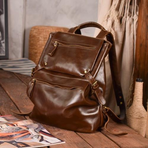 Рюкзак из натуральной кожи Grante орех