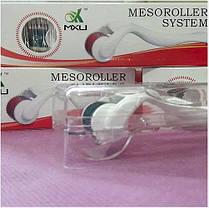 Мезороллер для лица и тела дермороллер 4в1 Meso Roller Plus | Derma roller 4 в 1, фото 2