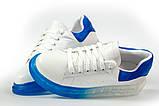 Кросівки жіночі 17163, MkQueen, білі, [ 36 37 38 39 40 ] р. 37-24,0 див., фото 8