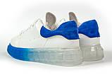 Кросівки жіночі 17163, MkQueen, білі, [ 36 37 38 39 40 ] р. 37-24,0 див., фото 9