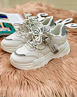 Женские кроссовки серая пятка, фото 1