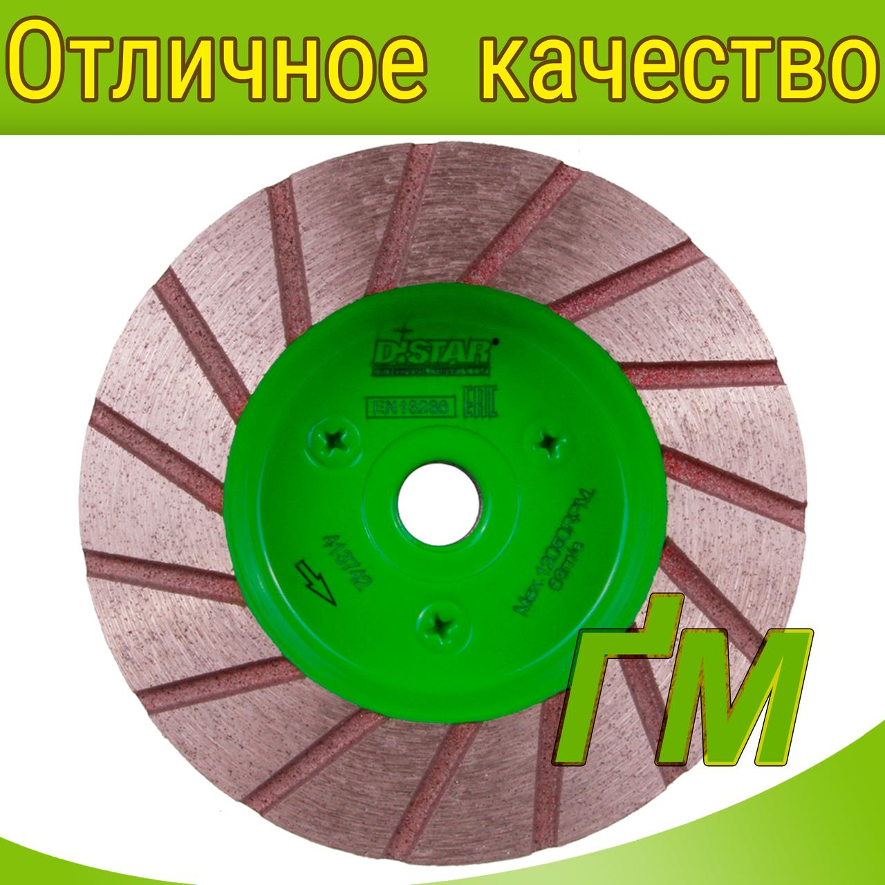 Алмазні фрези Distar Elite Active 100 DGM-S 100/M14F-15 №0