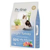 Корм Profine Cat Light Turkey (индейка и курица), 2 кг