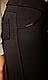 Лосины брючные на меху Meleynis 10 размер 54 черные, фото 3