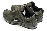 Кросівки жіночі 14421, Nike Air Max 98, хакі, [ 38 40 ] р. 38-24,3 див., фото 8