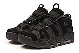 Кроссовки мужские 15212, Nike Air Uptempo, черные [ 43 ] р.(43-27,7см), фото 7