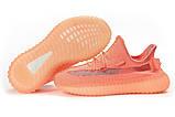 Кросівки жіночі 17562, Adidas Yeezy, рожеві, [ 36 39 41 ] р. 39-25,0 див., фото 6