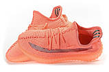 Кросівки жіночі 17562, Adidas Yeezy, рожеві, [ 36 39 41 ] р. 39-25,0 див., фото 8