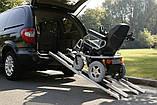 Алюминиевые выдвижные телескопические пандусы. Aluminium Rampen 691 160cm-320cm, фото 6